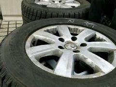 25/60R17东洋雪地轮胎。大众途锐原厂圈。