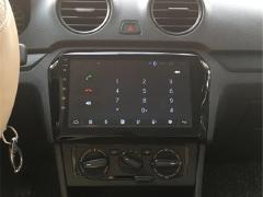 大众新捷达新桑塔纳安卓系统蓝牙智能车机导航倒车影