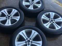 出售新款老款汉兰达轮毂轮胎百分百原厂可到4s店鉴定