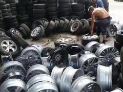 大量出售二手原装拆车轮胎 轮