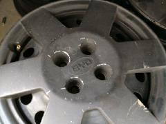 比亚迪F3铁轮毂一套