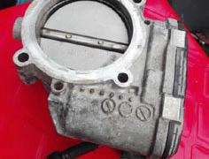 保时捷帕纳梅拉卡宴节气门进气支管 打气泵 减