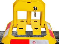 海淀区60自带电源安装车位锁安装加厚地锁安装立柱