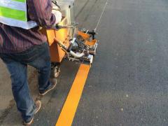 济南道路车库画线施工挡车器车位锁车轮锁减速带防撞