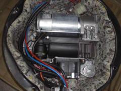 宝马E6打气泵 气囊方向盘 发动机 波