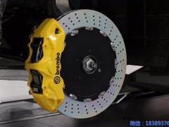 玛莎拉蒂刹车改装BremboGT前后全原装刹车套装