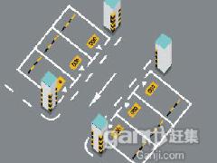 济南停车场设计施工车库画线厂家批发安装起落杆车位