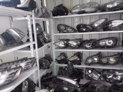 高价回收上海汽车配件疝气大灯方向机减震器安全气囊