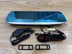 安卓智能后视镜记录仪导航电子狗一体机