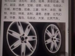 20寸玛莎拉蒂总裁原厂进口轮毂轮胎出售,图一有介绍