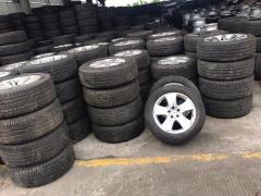 拆车厂出售正品二手轮胎 回收轮