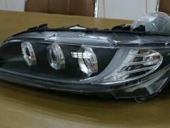 专业升级汽车灯光|马自达6天使眼双光透镜等大灯总