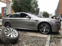 成都极速 宝马5系升级20寸M5款式锻造轮毂案