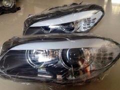 宝马5系F18大灯,机盖,倒车镜,车门,叶子板
