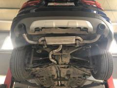宝马X1升级改装美国机械师双阀门可调排气系