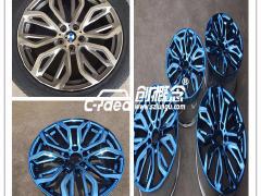 丰田本田现代福特大众汽车轮毂电镀翻新修复价格优惠
