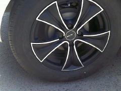 二手汽车轮胎轮毂