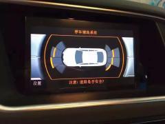 深圳奥迪Q5全车桃木芩木内饰条自动大灯停车辅助