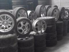 本库房上万条二手轮胎原厂改装轮毂,量大从优,质量保
